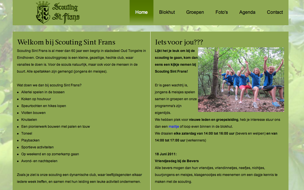 Project: Scouting Sint Frans