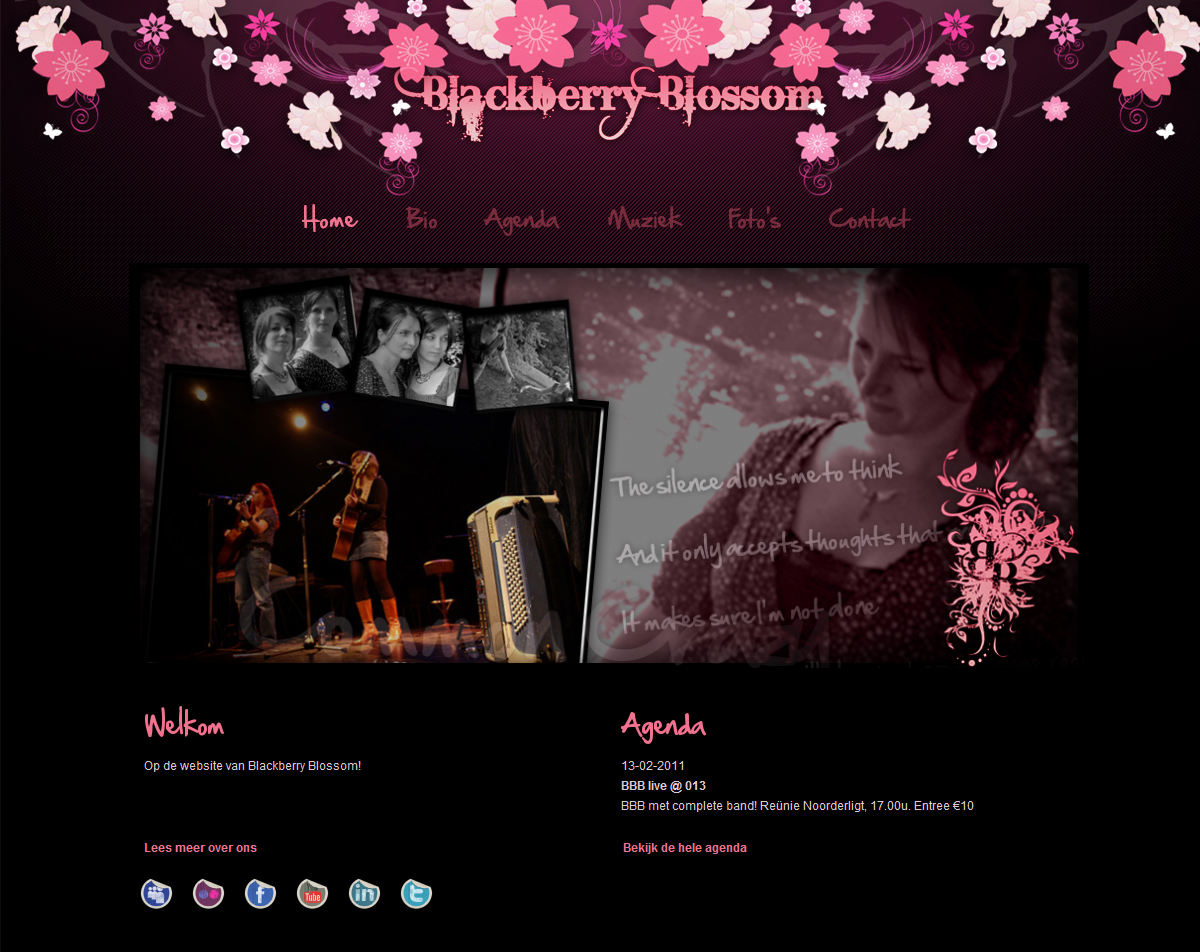 Project: Blackberry Blossom
